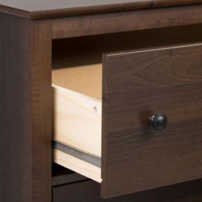 Prepac Yaletown 5-Drawer Tall Espresso Dresser