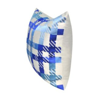 Loom and Mill Modern Plaid Throw Pillow