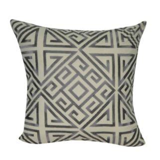 Loom and Mill Greek Key Geometric II Throw Pillow