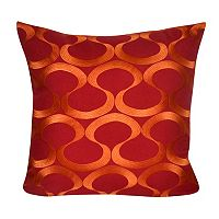 Loom and Mill Embroidered Swirls Throw Pillow