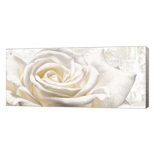 Metaverse Art White On White Canvas Wall Art