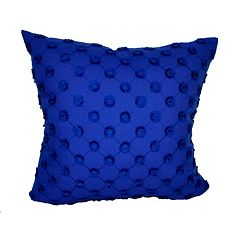 Loom and Mill Floret Polka Dot Throw Pillow