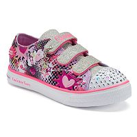 Skechers Twinkle Toes Breeze Pop-Tastic Girls' Light-Up Shoes