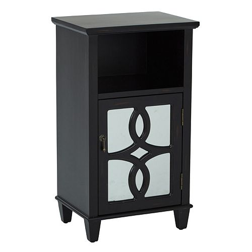INSPIRED by Bassett Medina Mirror Storage Accent Table