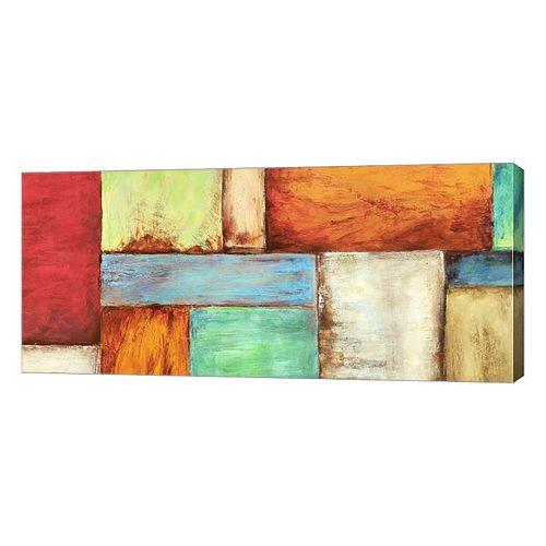 Metaverse Art Colors Of The Desert Canvas Wall Art