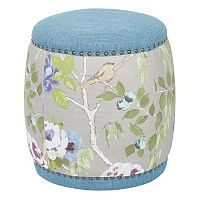Ave Six Briana Barrel Pouf