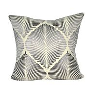Loom and Mill Light Leaf Throw Pillow