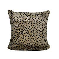 Loom and Mill Cheetah Faux Fur Throw Pillow