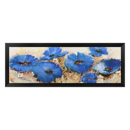 Metaverse Art Fiori Di Marzo Framed Canvas Wall Art