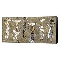 Metaverse Art African Dance Canvas Wall Art
