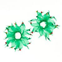 2-pk. Jingle Bell Hair Ties