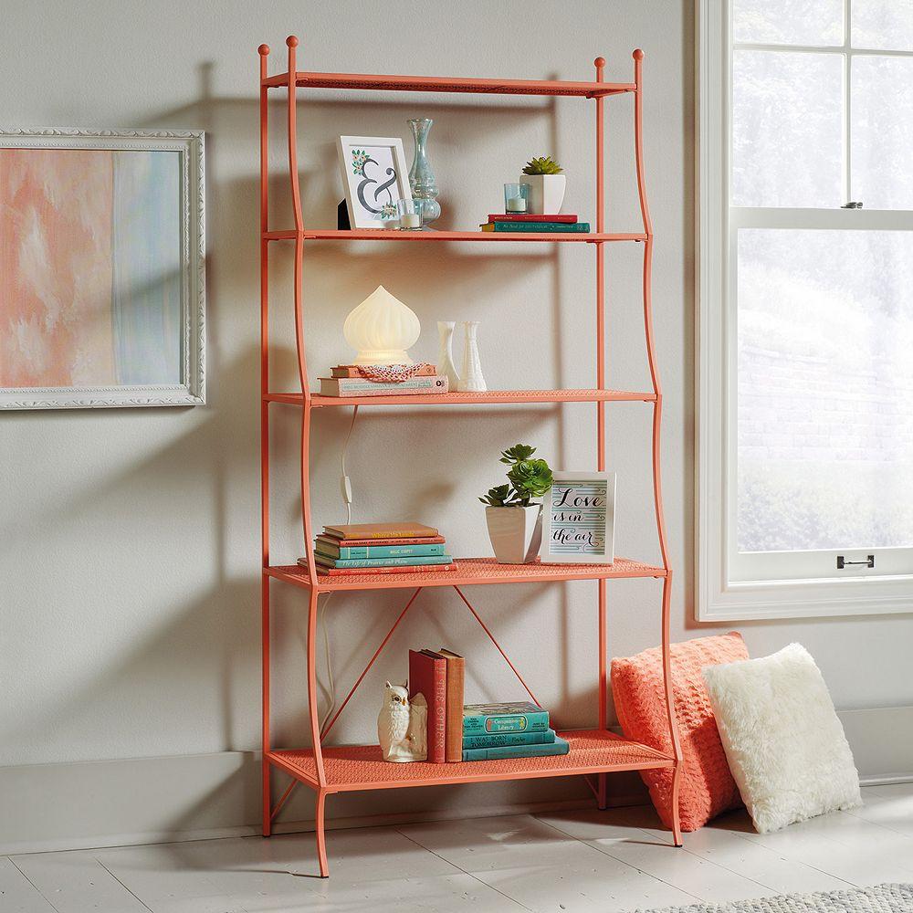 Sauder Eden Rue 5 Shelf Bookcase