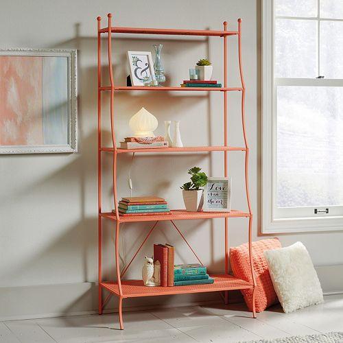Sauder Eden Rue 5-Shelf Bookcase