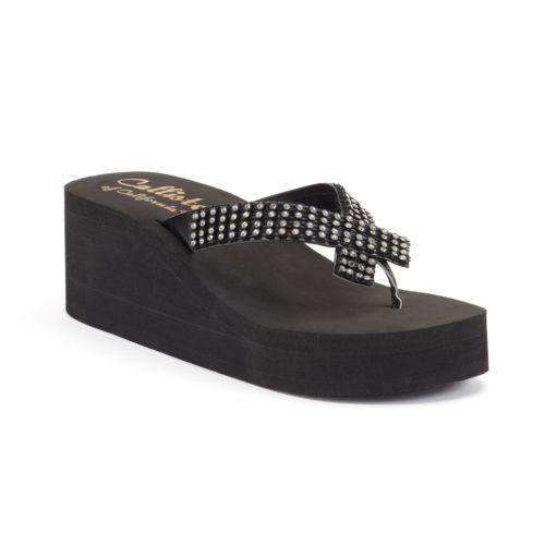 Callisto of California Montego Women's Platform Wedge Sandals