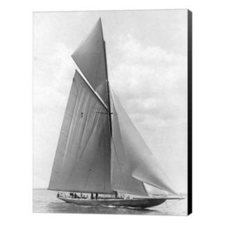 Metaverse Art The Vanitie During The America's Cup 1910 Canvas Wall Art