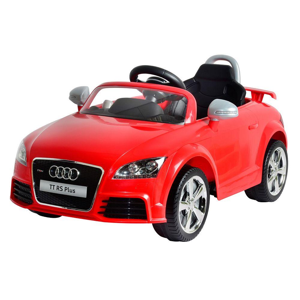 Audi tt rs 6v ride on by kid motorz
