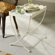Sauder Eden Rue Scallop Edge End Table
