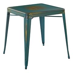 OSP Designs Bristow Antique Metal Table
