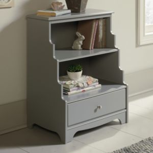 Sauder Eden Rue 2-Shelf Bookcase