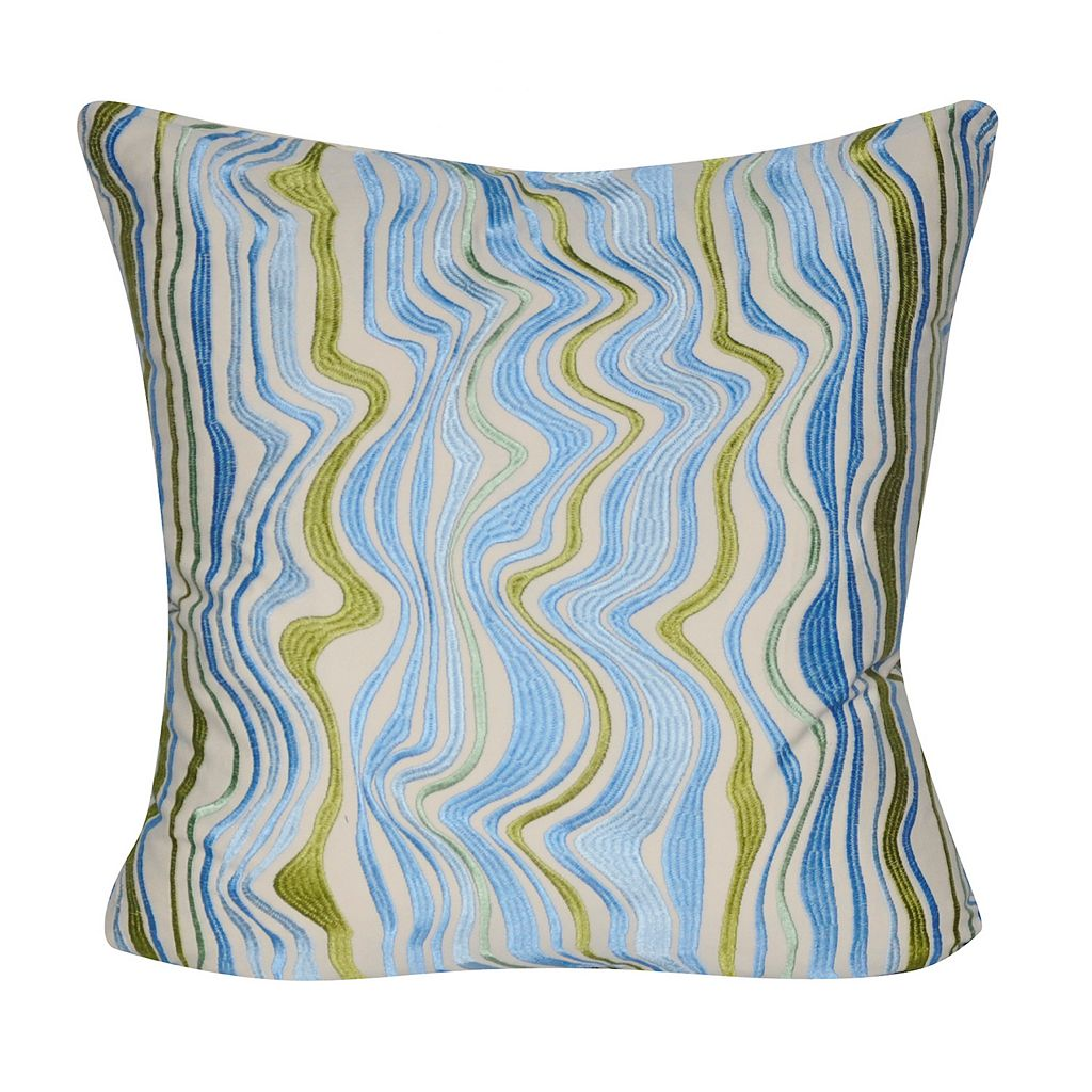 Loom and Mill Marble Swirl Throw Pillow