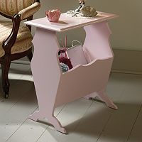 Sauder Eden Rue Pink End Table