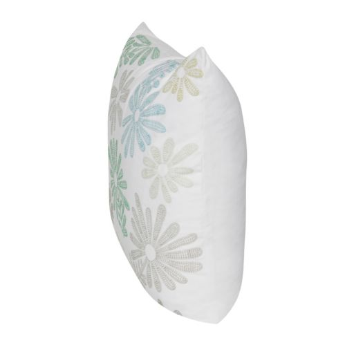 Loom and Mill Tossed Daisy Floral Throw Pillow
