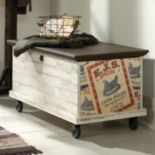 Sauder Eden Rue Rolling Storage Chest