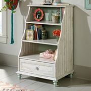 Sauder Eden Rue Distressed Bookcase