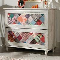 Sauder Eden Rue Patchwork Dresser