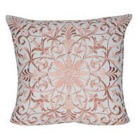 Loom and Mill Baroque Floral Throw Pillow