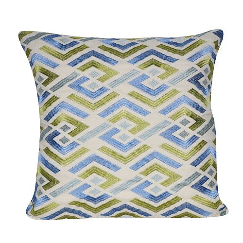 Loom and Mill Cut Geo Throw Pillow