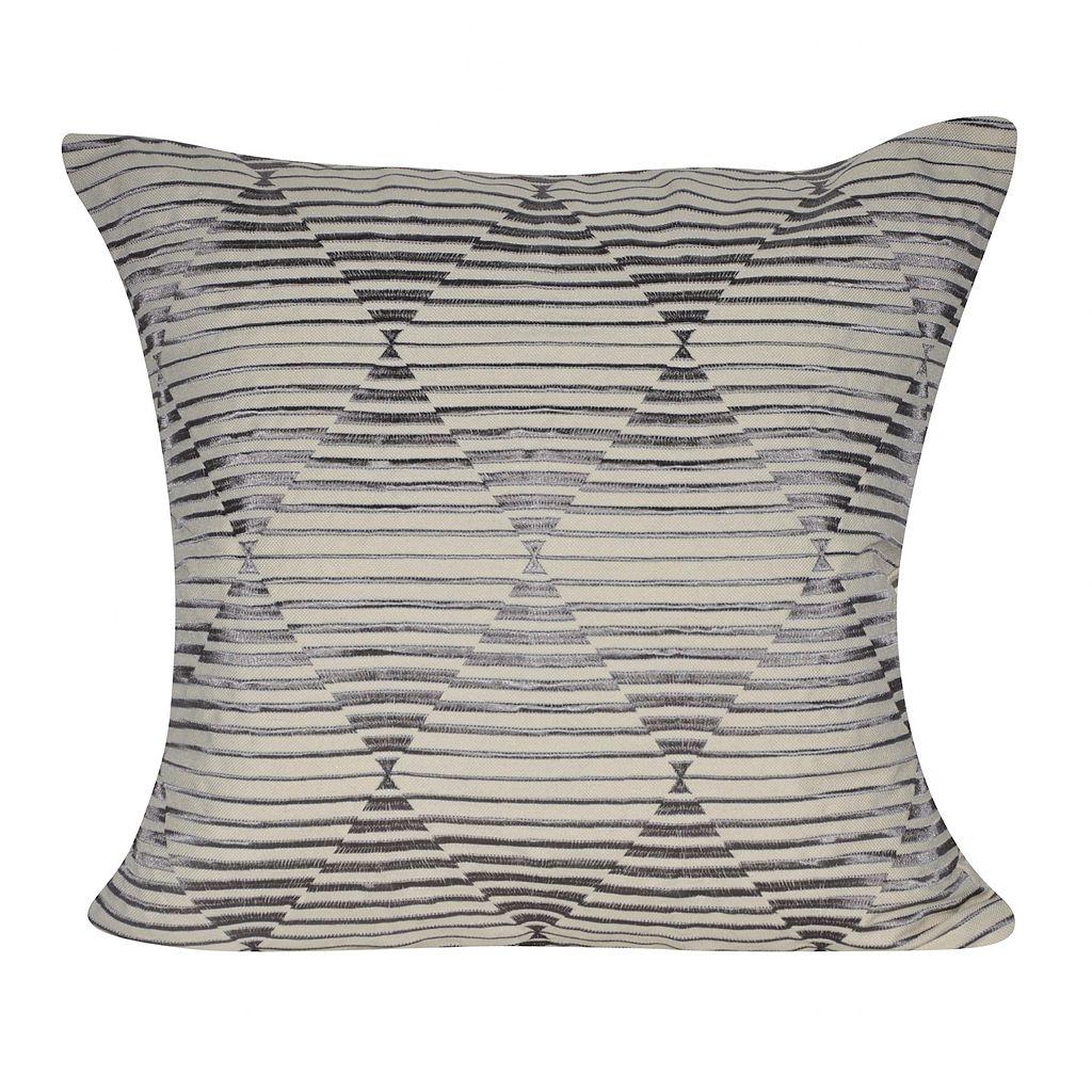 Loom and Mill Hidden Diamonds Geometric Throw Pillow