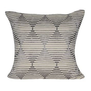 Loom and Mill Hidden Diamonds Geometric Throw Pillow