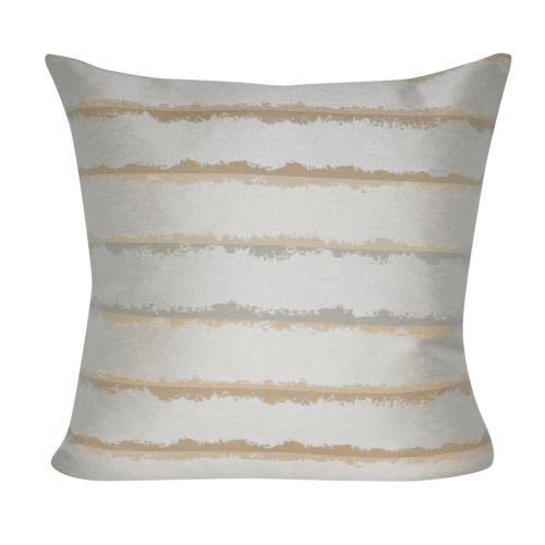 Loom and Mill Hazy Striped Indoor Outdoor Throw Pillow
