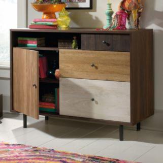 Sauder Eden Rue Credenza Storage Cabinet