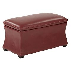 Ave Six Hourglass Storage Ottoman