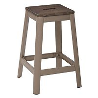 OSP Designs Hammond Rich Metal Counter Stool