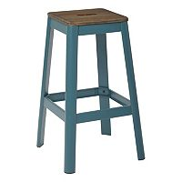 OSP Designs Hammond Rich Metal Bar Stool