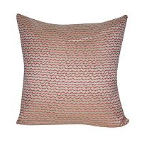 Loom and Mill Wavy Striped Indoor Outdoor Throw Pillow