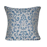 Loom and Mill Damask Indoor Outdoor Throw Pillow