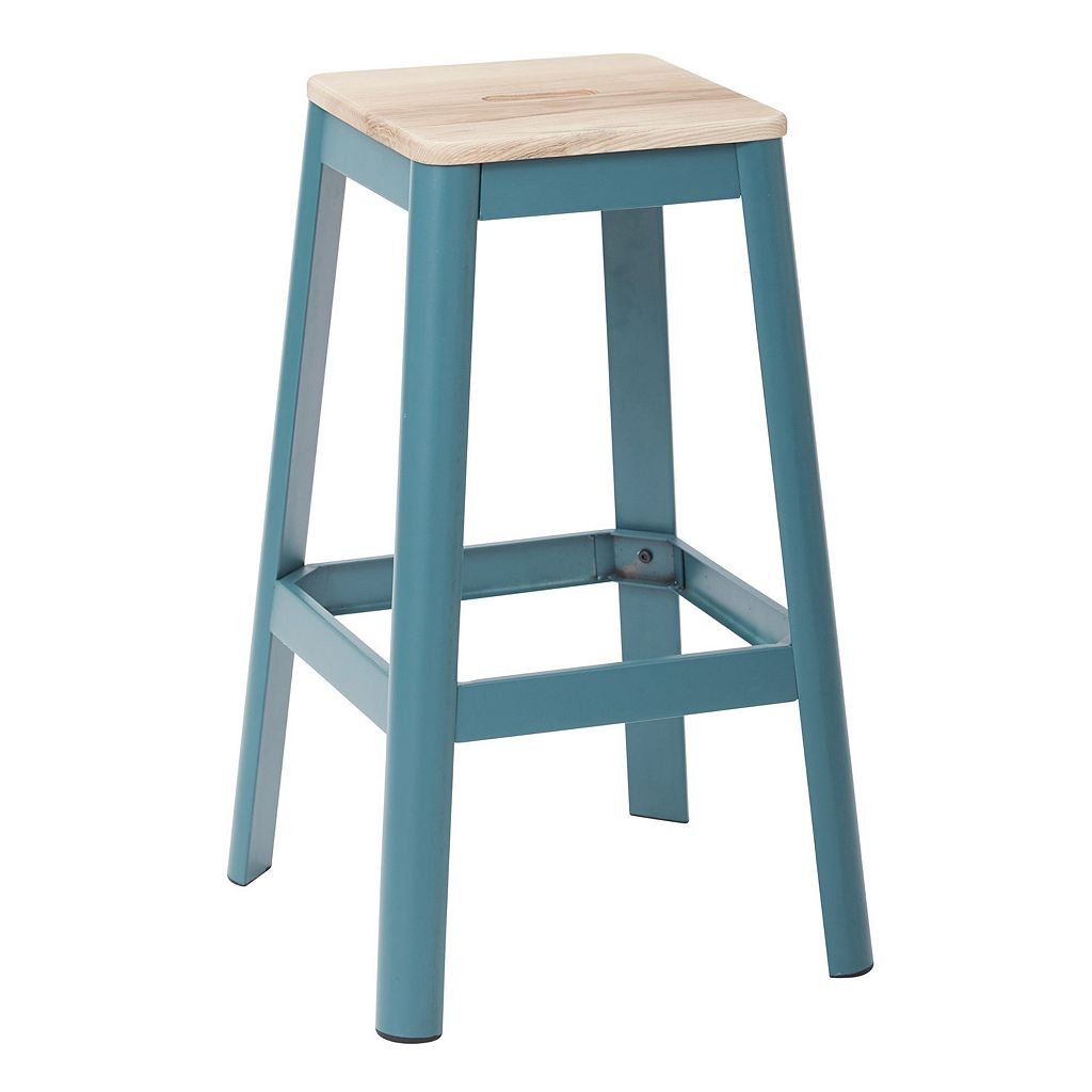 OSP Designs Hammond Metal Bar Stool