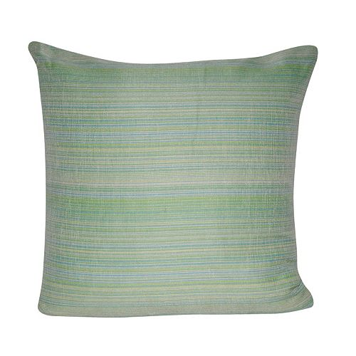 Loom And Mill Woven Stripes Indoor Outdoor Throw Pillow