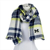 Women's ZooZatz Michigan Wolverines Blanket Scarf