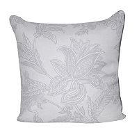 Loom and Mill Bold Paisley Flower Throw Pillow