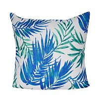 Loom and Mill Tropical Leaf Throw Pillow