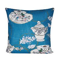 Loom and Mill Tea Time Throw Pillow