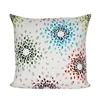 Loom and Mill Shattered Colors Throw Pillow