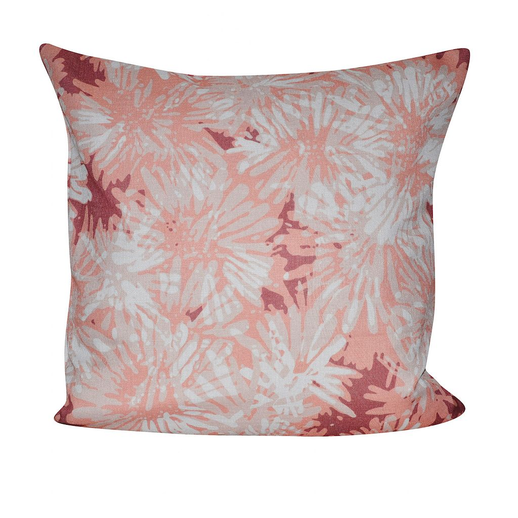 Loom and Mill Woven Chrysanthemum Throw Pillow