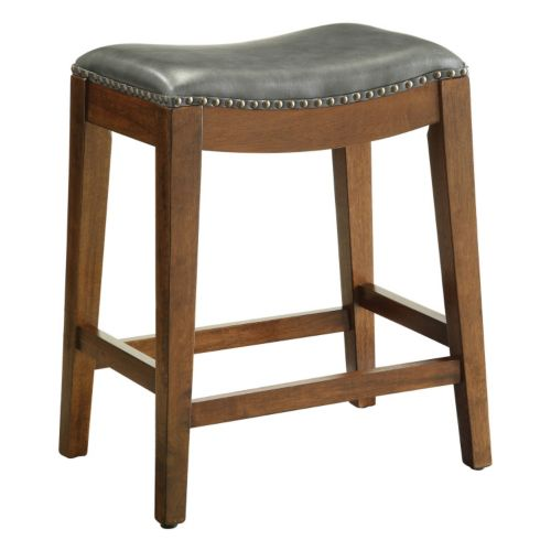 Osp Designs Nailhead Saddle Counter Stool
