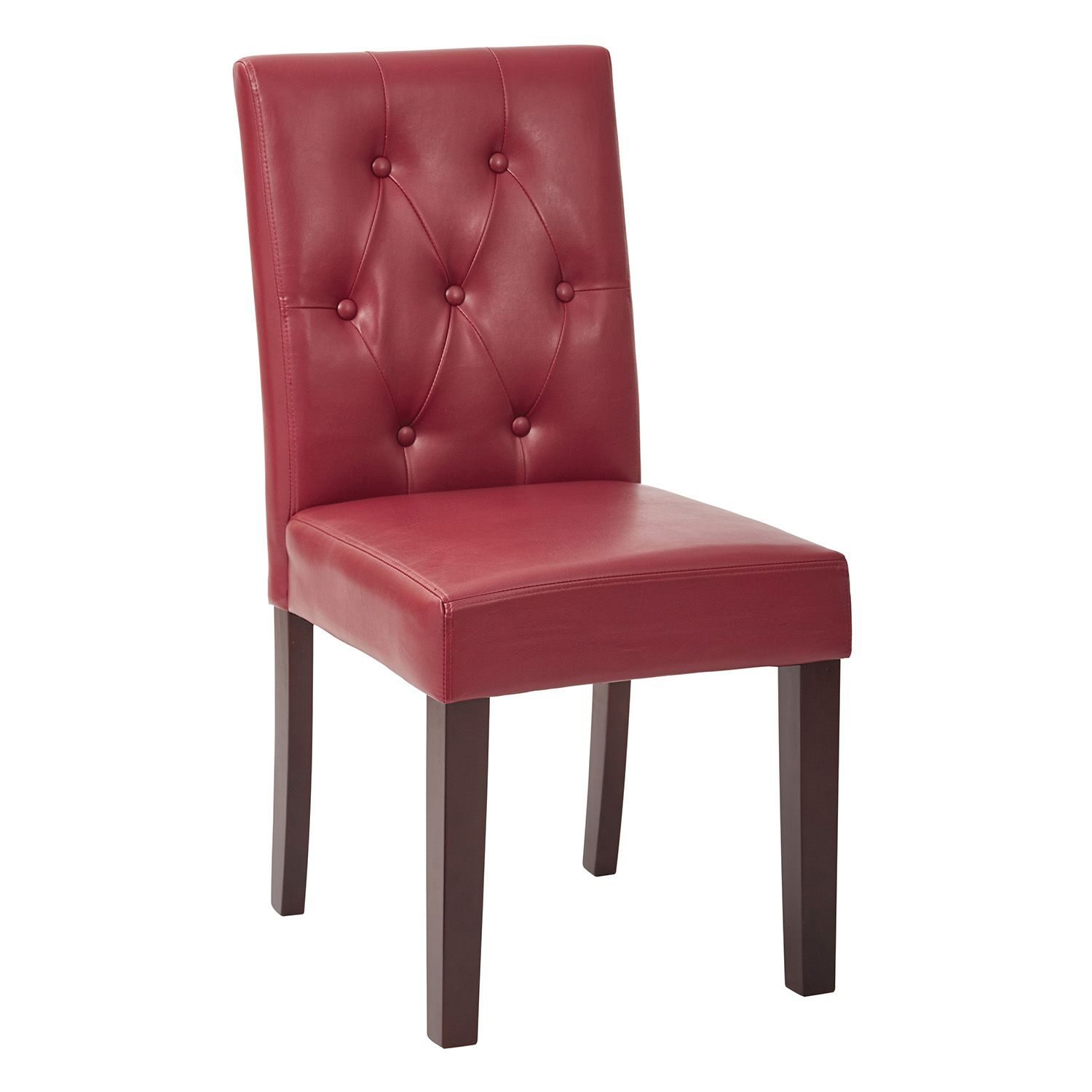 OSP Designs Button Tufted Dining Chair